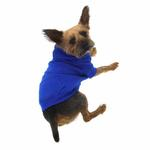View Image 3 of Basic Dog Hoodie - Nautical Blue