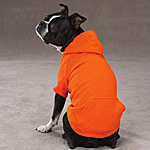 Basic Dog Hoodie - Vibrant Orange