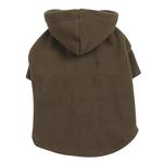 View Image 1 of Basic Fleece Dog Hoodie - Chive