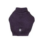 View Image 3 of Baxter's Basic Dog Sweater - Plum