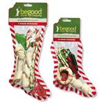View Image 1 of Be Good Treat Company Holiday Rawhide Stocking
