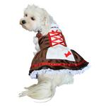 Beer Garden Girl Dog Halloween Costume