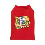 View Image 1 of Best Friend Dog T-Shirt - Red