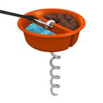 View Image 1 of Better Tether Dog Bowl Combo