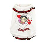 View Image 1 of Betty Boop White Ruffle Dog Dress