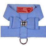 View Image 1 of Big Bow Dog Harness by Susan Lanci - Puppy Blue