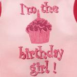 View Image 3 of Birthday Girl Dog Tank Top - Pink