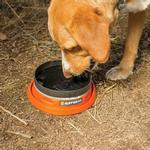View Image 1 of Bivy Bota Water Reservoir Dog Bowl By RuffWear - Campfire Orange