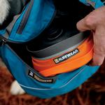View Image 4 of Bivy Bota Water Reservoir Dog Bowl By RuffWear - Campfire Orange