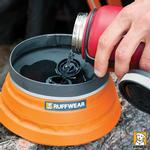 View Image 2 of Bivy Bota Water Reservoir Dog Bowl By RuffWear - Campfire Orange