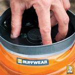 View Image 10 of Bivy Bota Water Reservoir Dog Bowl By RuffWear - Campfire Orange