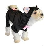 View Image 1 of Black Cat Halloween Dog Costume