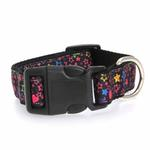 View Image 2 of Black Stars Dog Collar