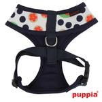 View Image 2 of Blossom Dog Harness by Puppia - Navy