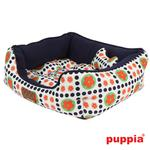 View Image 2 of Blossom House Dog Bed by Puppia - Navy