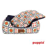 View Image 3 of Blossom House Dog Bed by Puppia - Navy