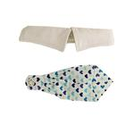 View Image 2 of Blue Heart Dog Shirt Collar and Tie