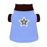 View Image 1 of Blue Star Turtleneck by Hip Doggie