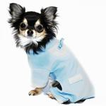 View Image 3 of Blue Tux Dog Jumper Pajamas by Hip Doggie
