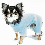 Blue Tux Dog Jumper Pajamas by Hip Doggie