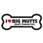 View Image 1 of Bone Magnet - I Love Big Mutts