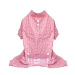 View Image 1 of Bones Dog Pajamas - Pink