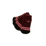 Bordeaux Argyle Soxy Paws Dog Socks