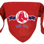 View Image 1 of Boston Red Sox Mesh Dog Bandana