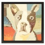 View Image 1 of Boston Terrier Oil Painting