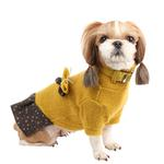 View Image 1 of Bounty Dog Dress by Pinkaholic - Mustard