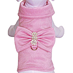 View Image 1 of BowWow Bow Jacket & Leash - Pink