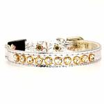 View Image 3 of Breakaway Crystal Cat Collar - Silver