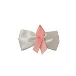View Image 1 of Breast Cancer Bow Dog Barrette