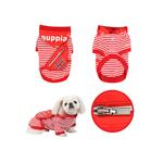 View Image 2 of Brit Dog Hoodie by Puppia - Red
