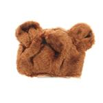 View Image 1 of Brown Bear Dog Hat by Dogo