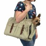 View Image 2 of Buckle Pet Tote by Dogo - Beige