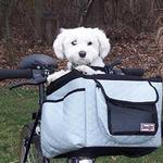View Image 1 of Buddy Bicycle Basket - Gray