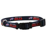 View Image 1 of Buffalo Bills Dog Collar - Black