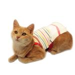 View Image 3 of Bully Cat Dress for Cats by Puppia - White