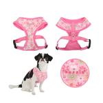 View Image 2 of Buttercup Dog Harness by Puppia - Pink