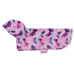 View Image 1 of Butterflies Packable Dog Rain Poncho