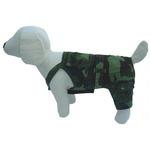 View Image 1 of Camo Denim Dog Overalls
