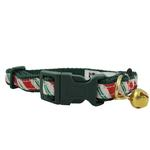 View Image 1 of Candy Cane Christmas Holiday Ribbon CAT Collar