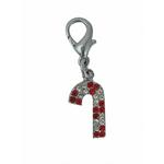 View Image 1 of Candy Cane Holiday Collar Charm