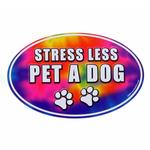 View Image 1 of Car Magnet - Stress Less, Pet a Dog