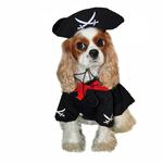 View Image 1 of Caribbean Pirate Dog Costume