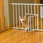 View Image 2 of Carlson Mini Dog Gate with Pet Door