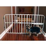 View Image 3 of Carlson Tuffy Expandable Dog Gate with Small Pet Door