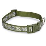 Carolina Collection Dog Collar - Green