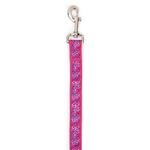 Carolina Collection Dog Leash - Raspberry